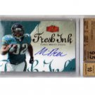Maurice Jones-Drew RC Auto 2006 Flair Fresh Ink Autograph #FI-MD Raiders Jaguars BGS 9.5/10