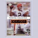 Tim Couch 1/1 RC 2000 EG Graded Personal Collection #149 #001/001 Browns