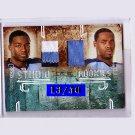 Kenny Britt  2009 Leaf R&S Studio Rookies Dual Prime Relic #7 Javon Ringer Titans #/50