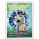 Alex Rodriguez 2003 Topps Chrome Record Breakers Bat Relic Yankees #CRBR-AR