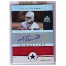 Marion Barber III 2005 Reflections Signature Reflections Red #SRMB Cowboys