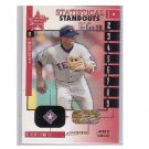 Alex Rodriguez 2001 Leaf R&S Statistical Standouts Authentic Bat #SS-10 Yankees Rangers