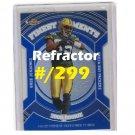 Greg Jennings 2007 Finest Moments Refractor #RFM-GJ #/299 Dolphins Packers, Vikings