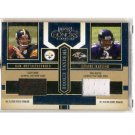 Ben Roethlisberger RC 2004 Playoff Honors Rookie Tandem Jerseys #RT7 Steelers