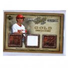Ryan Zimmerman 2006 UD Artifacts Gold Limited Apparel #MLB-RZ RC Nationals #/150