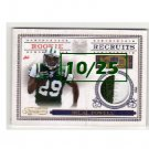 Bilal Powell 2011 Timeless Treasures Rookie Recruits Prime Materials #36
