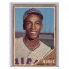 Ernie Banks 1962 Topps #25 Cubs HOF