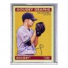 Ian Kennedy 2009 UD Goudey Graphs #GG-IK Autographed Yankees, Diamondbacks