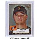 Matt Cain SP RC 2006 Topps 52 #88b Giants