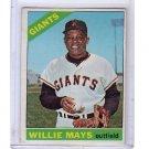 Willie Mays 1966 Topps #1 Giants HOF