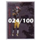 Mike Wallace 2009 R&S Dress for Success RC Jersey #28 Steelers #024/100