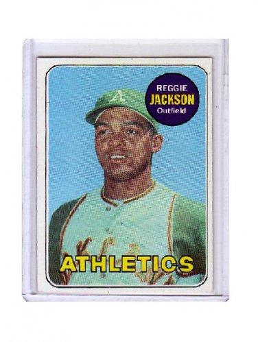 Reggie Jackson 1969 Topps #260 RC  A's, Yankees, Angels HOF