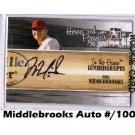 Will Middlebrooks #/100  Auto 2011 In the Game Lumbergraph Autograph #L-WMI Red Sox