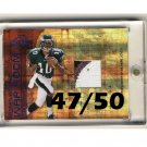 DeSean Jackson 2008 Absolute War Room Prime Jersey RC #WR6  Eagles Redskins