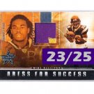 #23/25 Sidney Rice Seahawks Dress for Success RC Patch Vikings