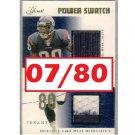 Andre Johnson 2004 Flair Power Swatch #PSD-AU Texans