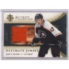 Jeff Carter RC 2005-06 Ultimate Collection Rookie Jersey #J-JC Kings, Flyers #178/250