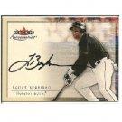 Lance Berkman 2000 Fleer Autographics Autograph Rangers, Astros, Cardinals
