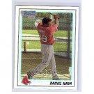 Daniel Nava RC 2010 Bowman Chrome Prospect Refractor #BCP47 Red Sox