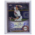 Brandon Beachy 2011 Topps Chrome Rookie Autographs #176