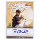 Paul Maholm 2005 Bowman Signs of Future Autographed RC #SOF-PM Pirates Braves