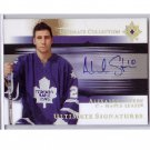 Alecander Steen 2005-06 Ultimate Collection Signatures Autograph #US-AS Blues