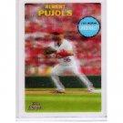 Albert Pujols 2011 Topps Lineage 3-D #T3D25 - Cardinals, Angels