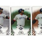 David Ortiz 3-Card Lot 2012 Triple Threads #42  Red Sox
