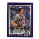 Brennan Boesch 2010 Bowman Draft Prospect Chrome Purple Refractor #BDP7 Yankees