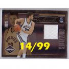 Marc Gasol 2010-11 Limited Team Trademarks Jersey #16 Grizzlies #14/99