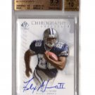 Felix Jones RC Auto 2008 SP Authentic Chirography Autograph #CH-FJ Cowboys  BGS Pop 4
