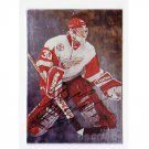 Chris Osgood 1998-99 Be-a-Player Autograph #47 Red Wings