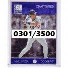 Mike Piazza 1998 Elite Craftsmen #16 of 20 Dodgers, Mets #/3500