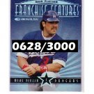 Mike Piazza 1997 Donruss Franchise Features #9 Dodgers, Mets #/3000