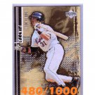 Mike Piazza 2001 Black Diamond Gold #71 Dodgers, Mets #/1000