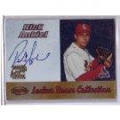 Rick Ankiel 2000 Bowman's Best Certified Autograph #LRCA2 Mets, Cardinals Nats