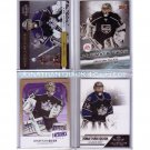 Jonathan Quick 4-Card Lot  Inserts, Gold Parallel Kings