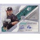 Dan Uggla 2006 SPx Rookie Signatures Autograph #159 Braves Marlins