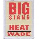 Dwyane Wade RC 2003-04 Fleer Platinum Big Signs #8 Rookie Miami Heat