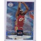 LeBron James 2004-05 UD Flight Team #45FT Miami Heat