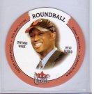 Dwyane Wade RC 2003-04 Ultra Roundball Discs #35  Miami Heat