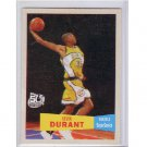 Kevin Durant RC 2007-08 Topps 1957-58 Variations #112 Thunder, Warriors