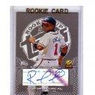 Rafael Furcal 2005 Topps Rookie Cup Autographs #RF-B Cardinals, Braves Dodgers