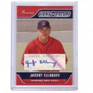 Jacoby Ellsbury 2006 Bowman SOF Certified RC Autograph #SOF-JE Red Sox