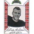 Dick LeBeau Pittsburgh Steelers HOF Autographed Press Pass Legends Card