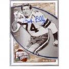 Bob Lilly Autographed Card Cowboys HOF