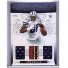 Dez Bryant #/25 RC 2010 Playoff National Treasures Triple Prime Century Silver NFL Gear #4 Cowboys