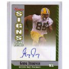 Greg Jennings 2006 Bowman Signs of the Future Autograph RC #SF-GJ Packers, Vikings