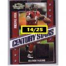 Michael Vick 2007 Threads Century Stars Jersey #CS-11 Steelers, Falcons #/25