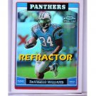 DeAngelo Williams RC 2006 Topps Chrome Special Edition Refractor RC #228 Panthers Steelers